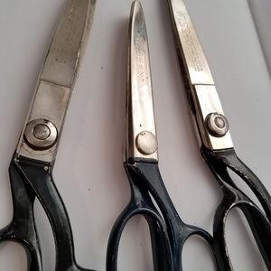 wiss scissors Other - Lot of 3 Vintage WISS Pinking Shears SCISSORS